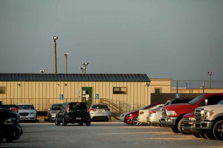 The South Texas Family Detention Center in Dilley houses 1,100 women and children, most from Central America, but the facility also houses women and children from as far away as Romania and Russia. (The Washington Post)