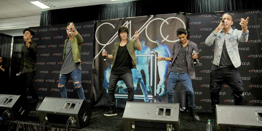 CNCO performed Sunday during a special appearance at Macy's in Memorial City Mall. Photo: Dave Rossman, Freelance / Dave Rossman