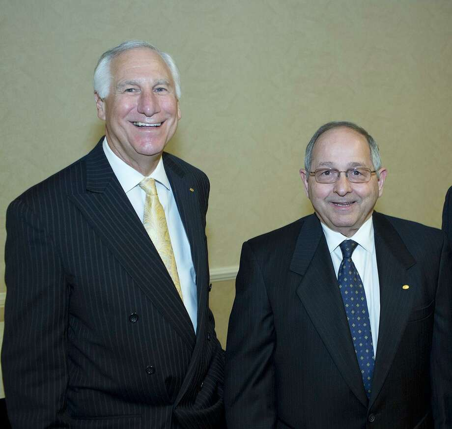 SWBC Chairman Charlie Amato and President Gary Dudley founded the financial services company in 1976. The firm has cut less than 2 percent of its 2,600-person workforce. Photo: San Antonio Express-News File Photo / SAN ANTONIO EXPRESS-NEWS
