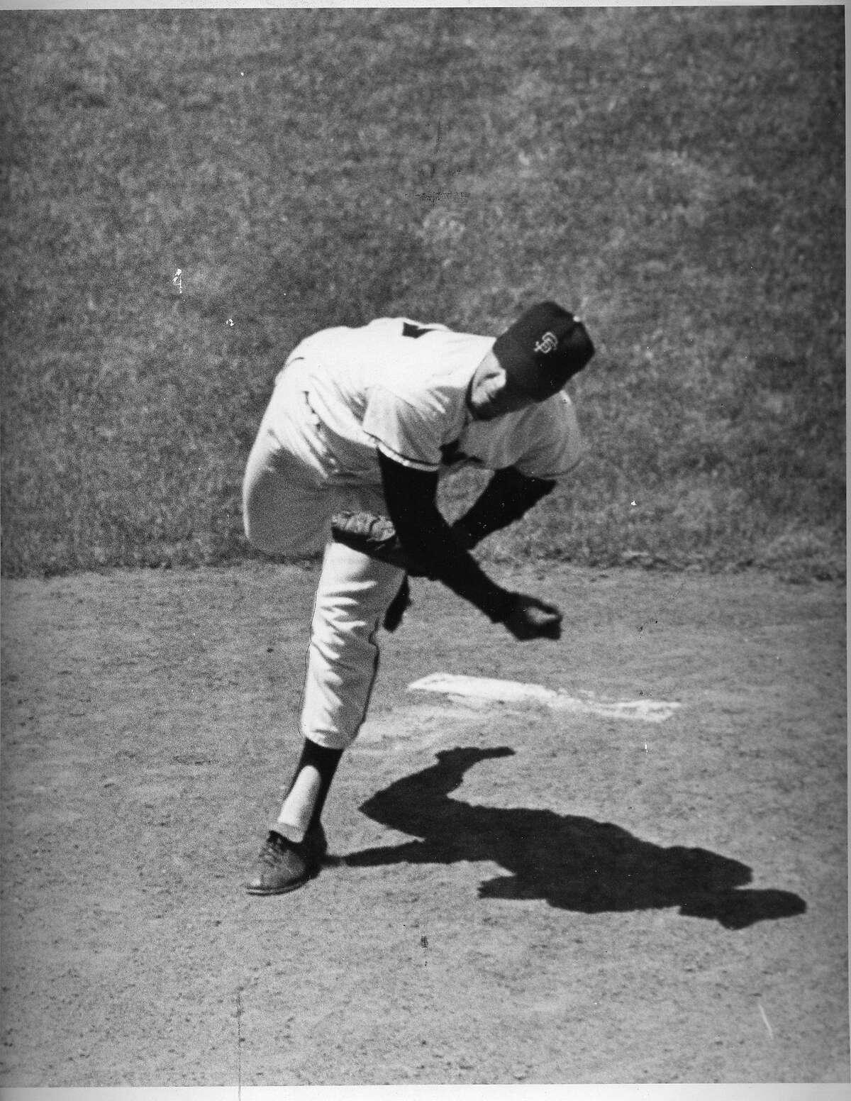 Juan Marichal pitches no-hitter, 06/15/1963 photo ran 06/16/1963, Page 31