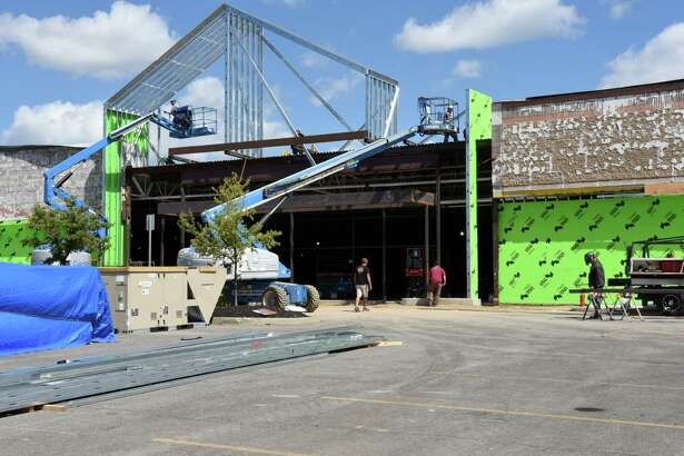 Construction continues on At Home, the home dŽcor superstore, opening in October at Crossgates Commons on Monday, Aug. 29, 2016 in Albany, N.Y. (Lori Van Buren / Times Union)