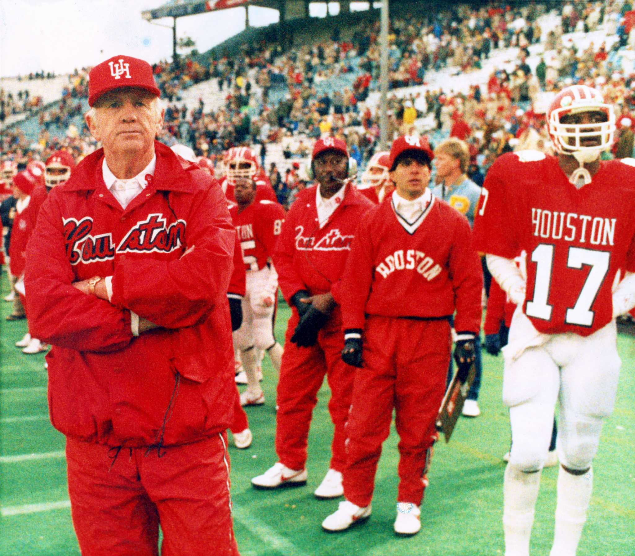 Legendary UH football coach Bill Yeoman recovering after hospital stay