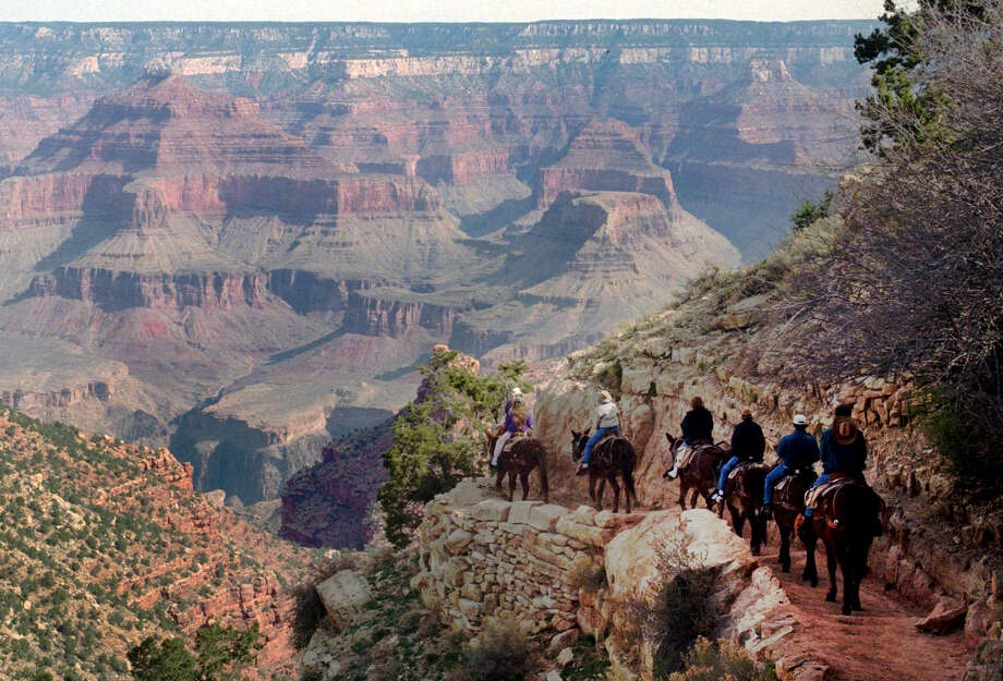 No. 3 - Grand Canyon National Park Size: 1.2 million hectares Visitors: 5.5 million annually Deaths: 130Common Causes of Death: Falls, Heart Attack Photo: JEFF ROBBINS, Associated Press / Copyright 2016 The Associated Press. All rights reserved. This material may not be published, transmitted, rewritten or redistributed