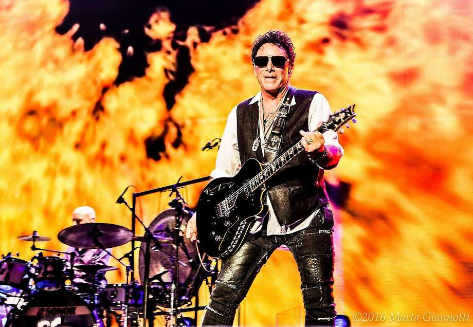 Journey lead guitarist Neal Schon says he has been playing music and touring since he was 15 and doesn't envision ever retiring. Photo: Photo By Marta Giannotti