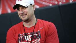 UH coach Tom Herman is trying to downplay the importance of Saturday's game against Oklahoma, saying there's not a champion-ship at stake, but that's a hard sell as the game matches the No. 3 and 15 teams in country.