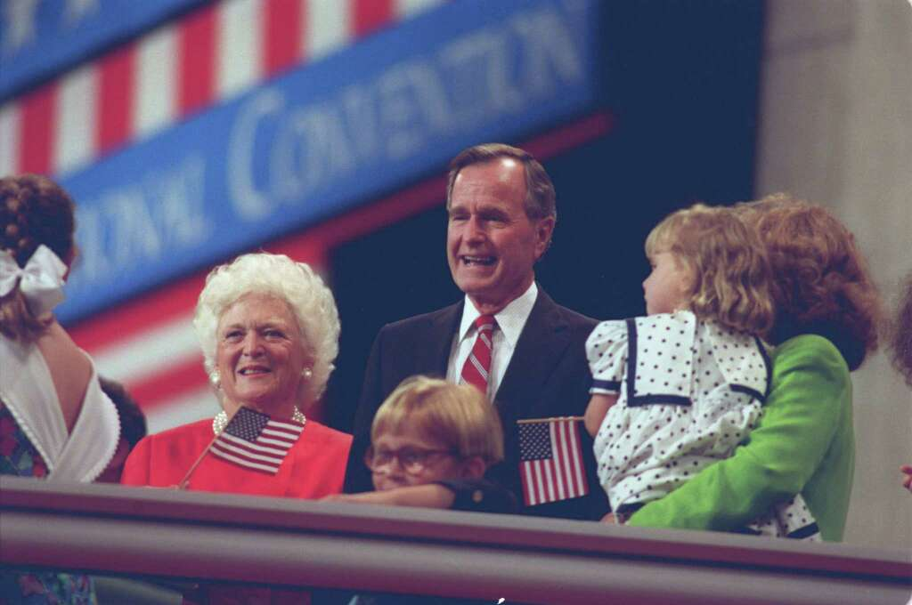 george h w bush responds after accuses him of