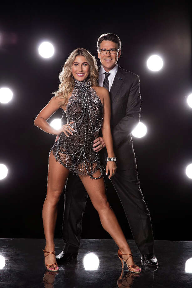 Emma Slater and Rick Perry. Politician. Photo: Craig Sjodin, ABC/Craig Sjodin / © 2016 American Broadcasting Companies, Inc. All rights reserved.