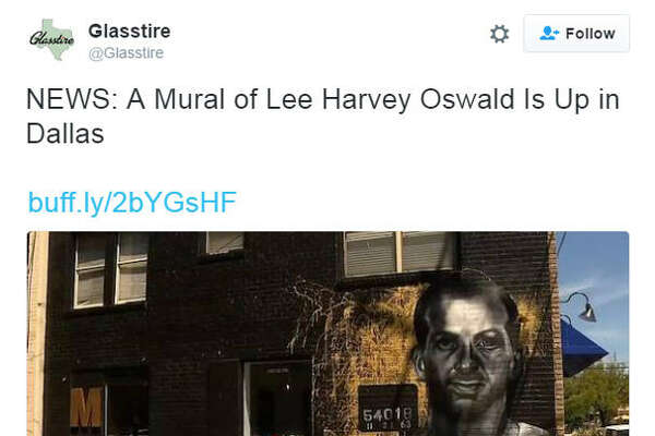 Members Only, a barbershop in Dallas' Bishop Arts neighborhood, is getting some extra attention this week after installing a mural on the side of the shop depicting alleged JFK assassin Lee Harvey Oswald.