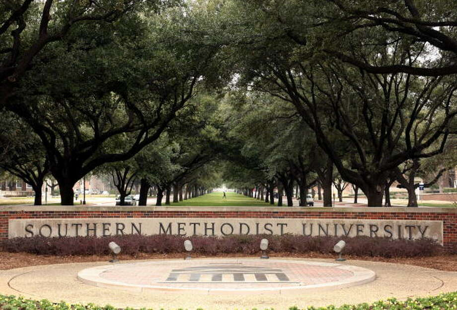 FILE - Southern Methodist University suspended a fraternity chapter for hazing new members. Photo: Brian Harkin/Getty Images