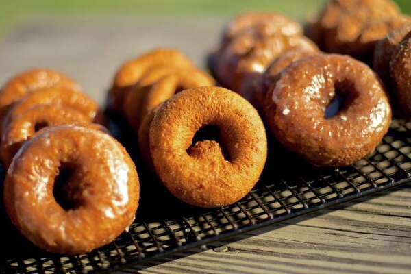 THE GOODS: Cider, doughnuts, 16 pumpkin varieties, jams, pies, ice cream, corn and hay mazes, petting farm 