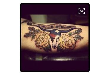Texas themed tattoos any texan would love houston chronicle for Houston texans tattoo