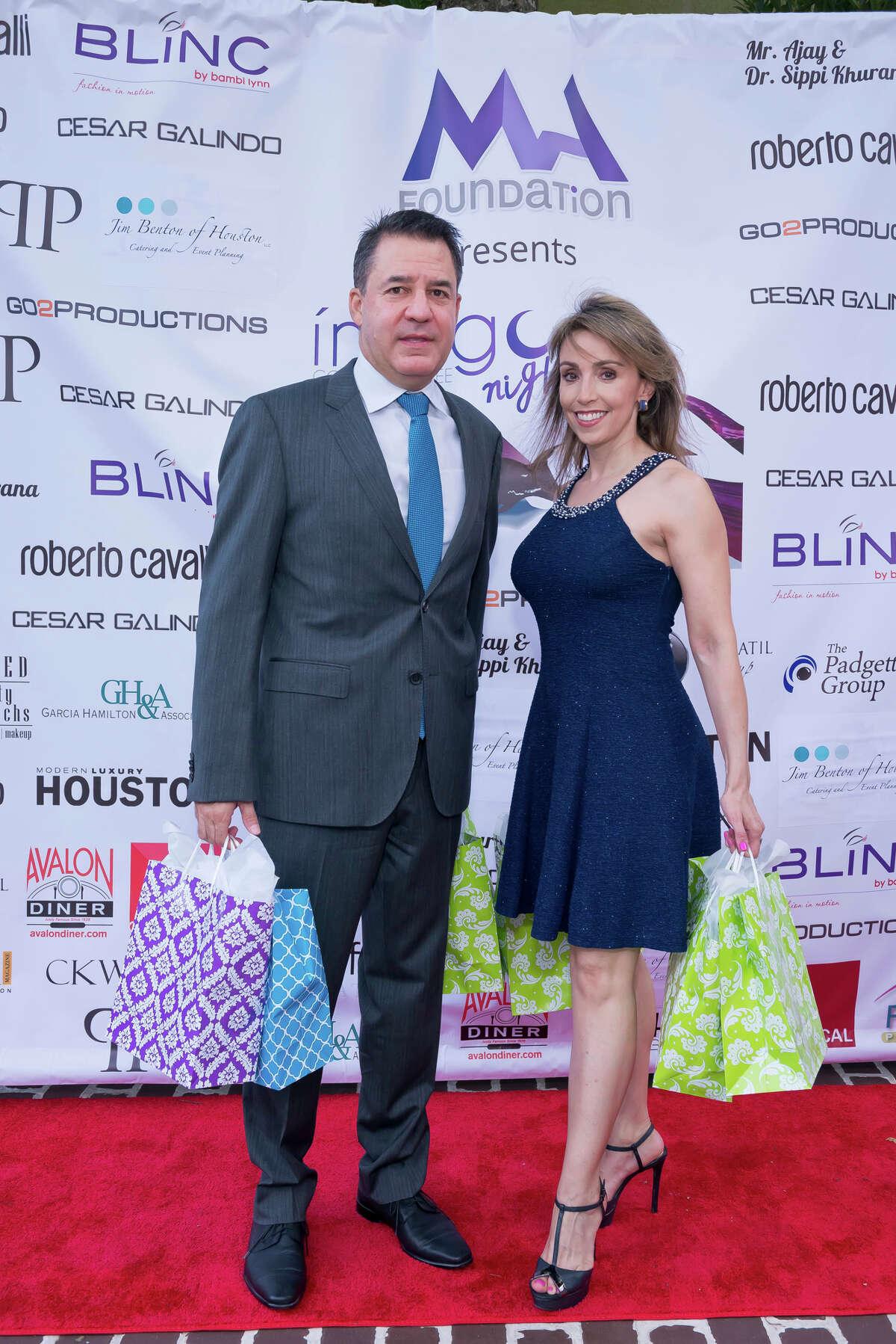 Mauricio Vallejo and Liliana Molina