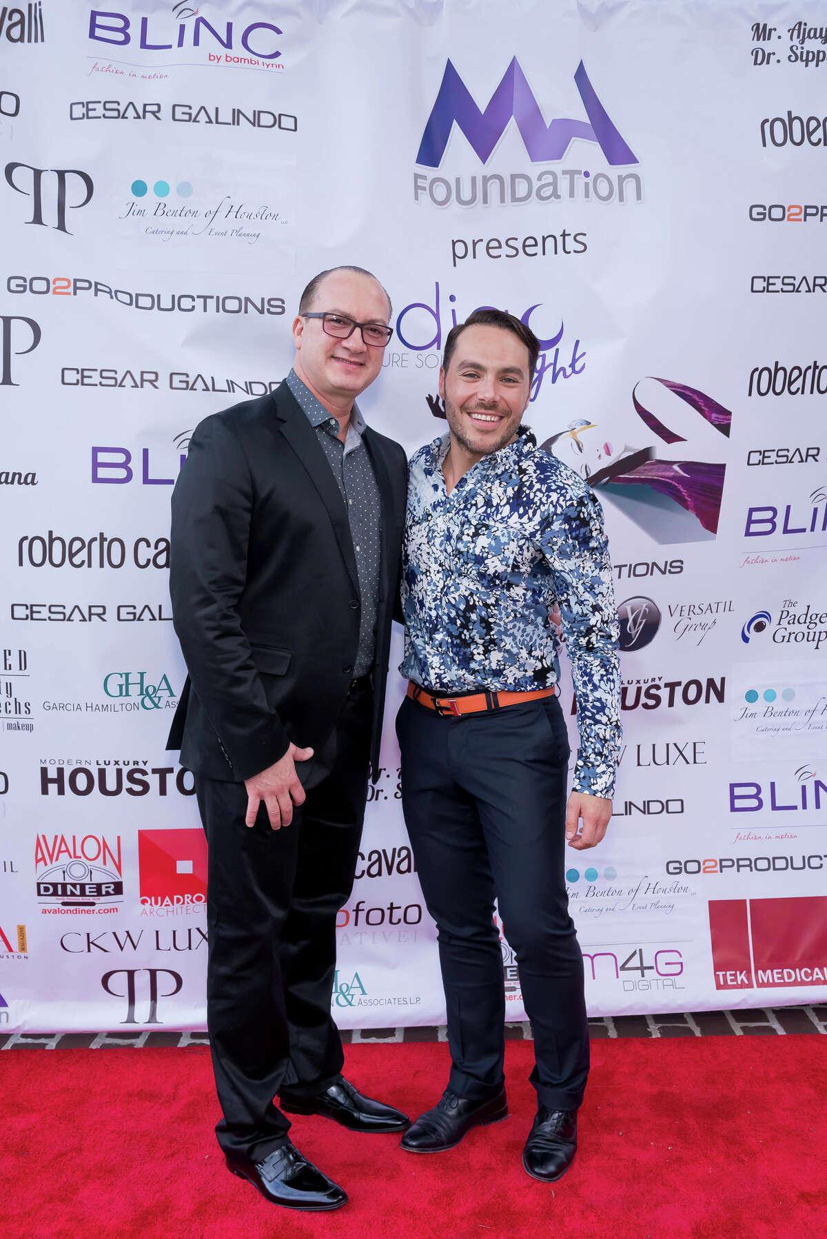 Victor Garcia and Gerardo Dorado-Smith