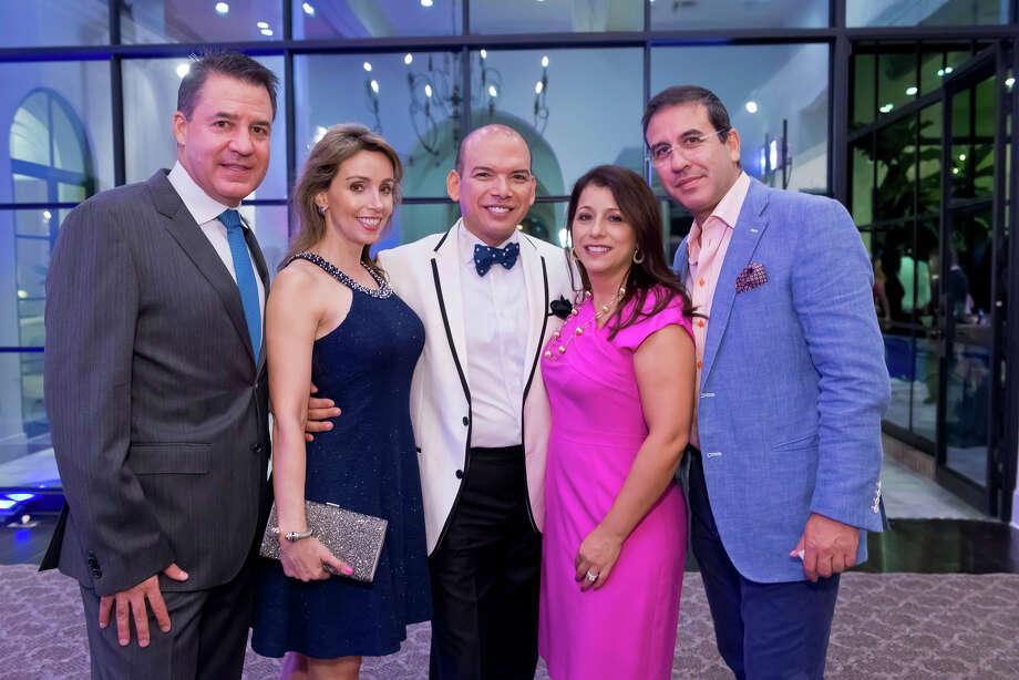 Mauricio Vallejo, Liliana Molina, Alex Martinez-Arpin, Sandra Fonseca, and Alberto Uribe Photo: Indigo Society