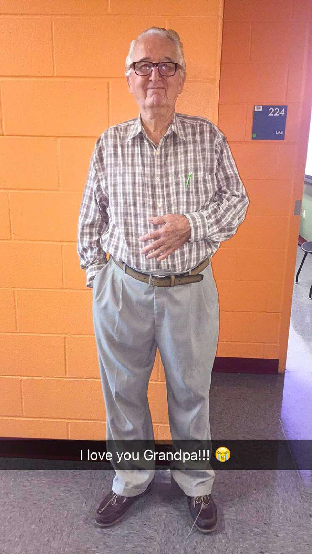 Rene Neira, 82, plans to earn his associate's degree this semester before heading to the University of Texas at San Antonio to get his bachelor's in economics.