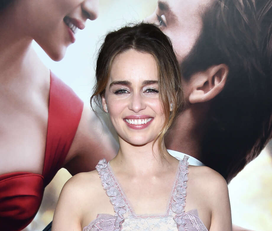 "Emilia Clarke, attending ""Me Before You,"" shows off the smile she uses to beat back co-star Sam Claflin's depression in the romantic drama, which is now on Blu-ray. Photo: Dimitrios Kambouris /Getty Images / 2016 Getty Images"