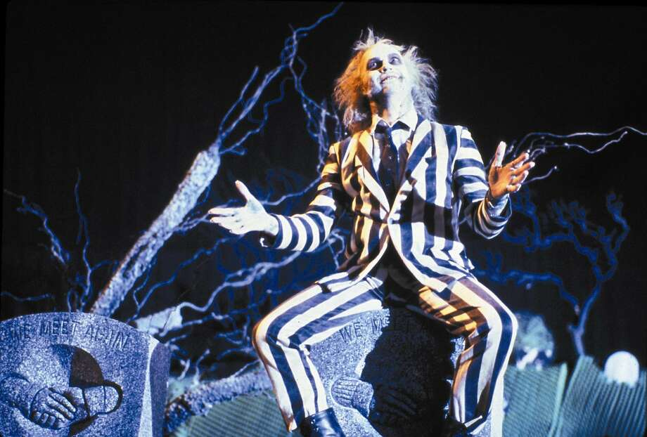 """Beetlejuice,"" starring Michael Keaton, is among Tim Burton's first four films, being screened at Alamo Drafthouse. Photo: Contributed Photo"