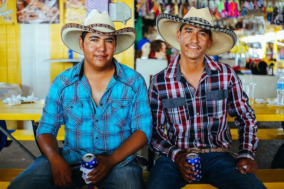 """""""Hermanos"""" is one of the images by photographer Arlene Mejorado featured in """"Califas Lens, San Antonio Heart: Outside Looking In"""" at R Space. The show is part of Fotoseptiembre USA."""