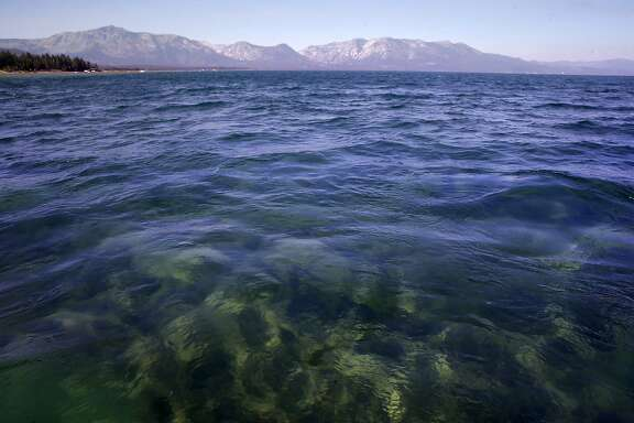 The emerald and blue waters of  Lake Tahoe, California as seen on Tuesday Aug. 30, 2016.