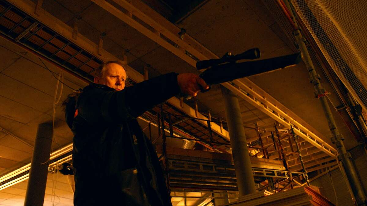 Stellan Skarsgard in the Norwegian film �In Order of Disappearance.