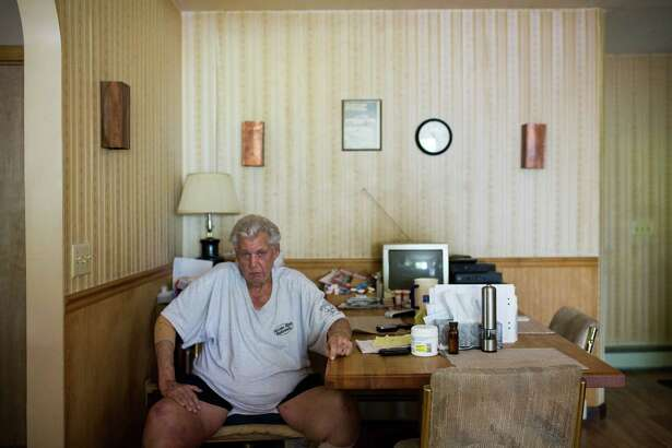 Bob Stackowitz in his home in Sherman, Conn., June 1, 2016. Stackowitz used an alias after escaping from prison in 1968, but was recently discovered when he sought benefits under his real name. (Christopher Capozziello/The New York Times)