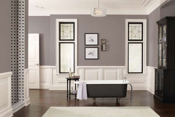 """Sherwin-Williams' """"Poised Taupe"""" is a versatile mix of gray and brown. It's the company's 2017 Color of the Year."""