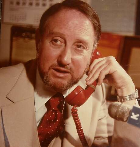 Hilly Rose was a radio talk show trailblazer. He was inducted into the Bay Area Radio Hall of Fame. Photo: Marcia Green / 1979-80