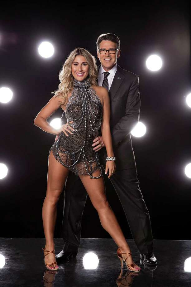 "Rick Perry will pair with Emma Slater on ""Dancing with the Stars,"" which starts its new season on Sept. 12. Photo: Craig Sjodin/ABC, HO / Los Angeles Times"