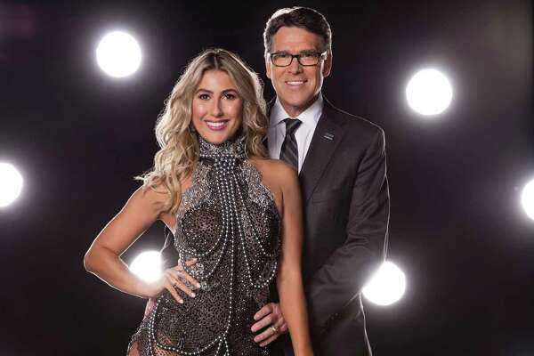 """Rick Perry will pair with Emma Slater on """"Dancing with the Stars,"""" which starts its new season on Sept. 12."""