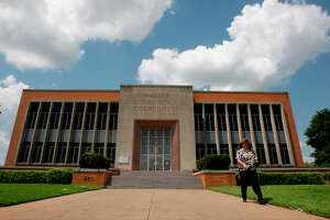 The Waller County Courthouse in Hempstead houses courtrooms as well as some administrative offices.