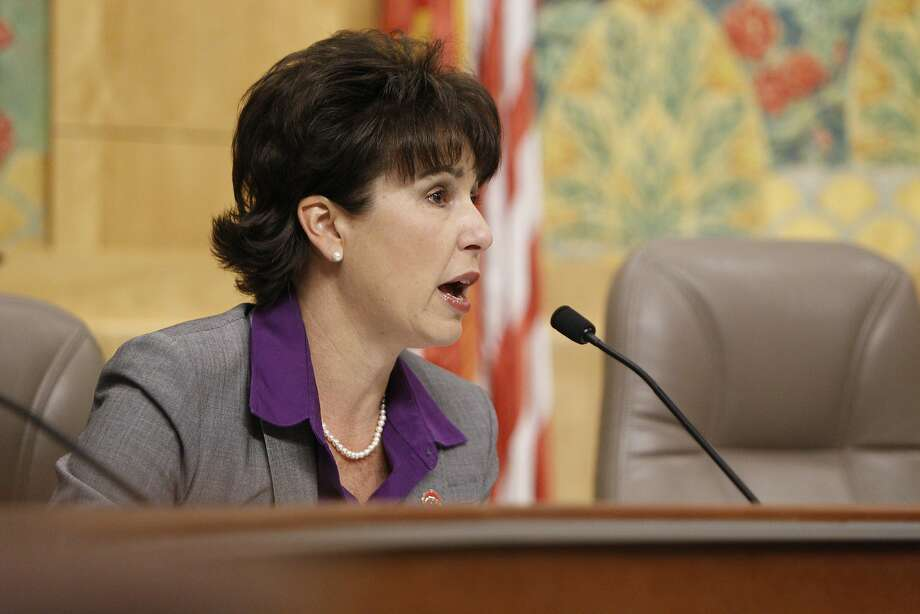 "State Sen. Connie M. Leyva, D-Chino, authored SB500, a law designed to protect Californians from ""sextortion"" by providing a clear path to report abuse to law enforcement. Photo: Santiago Mejia, The Chronicle"