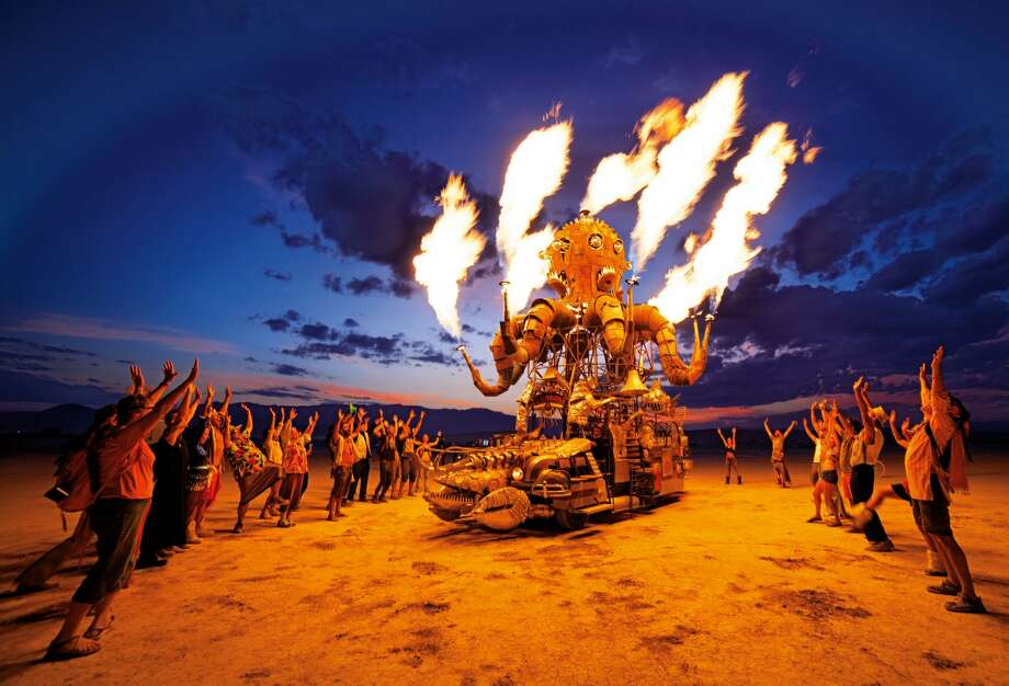"Images from the book, ""Art of Burning Man"" by NK Guy. Photo: Courtesy NK Guy / Taschen"