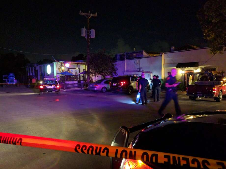 A man was allegedly shot by his passenger who then stole another vehicle as it was parking Tuesday night on the North Side in the 5300 block of McCullough Ave. Photo: Jacob Beltran