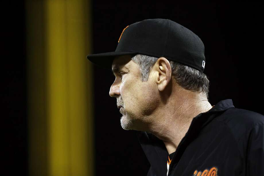 San Francisco Giants' manager Bruce Bochy against Arizona Diamondbacks during MLB game at AT&T Park in San Francisco, Calif., on Tuesday, August 30, 2016. Photo: Scott Strazzante, The Chronicle