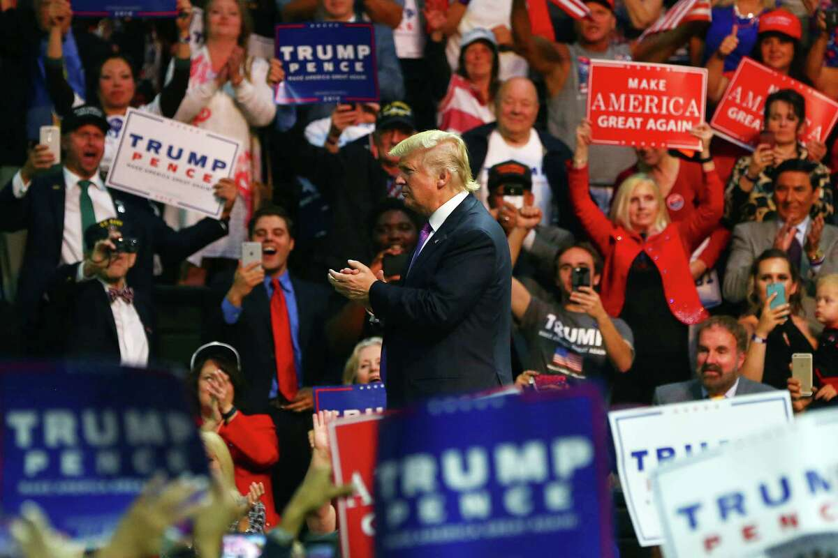 Candidate Trump gets roaring reception at 2016 rally in Everett. President Trump has helped put three Republican-held congressional seats at play in Washington. .