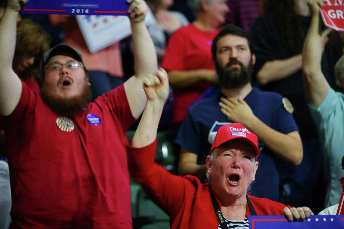 """The """"Trump base"""" has stayed loyal through all trials."""