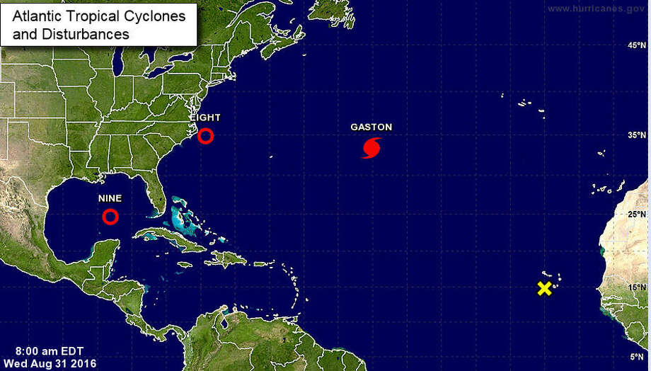 Forecasters keeping their eyes on several active storms in the Atlantic region. (National Hurricane Center)