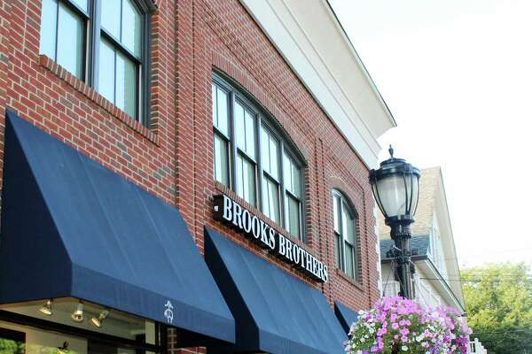 Retailers like Brooks Brother in downtown Darien, CT reaped the benefits of tax free week last week in Aug. 2016.