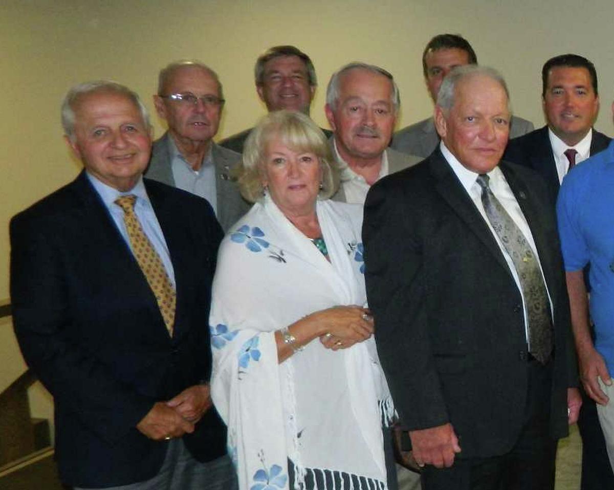 Judith Breselor , center, Rensselaer County legislator: