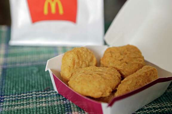 McDonald's Chicken McNuggets sell for $3.99 for 10 pieces.