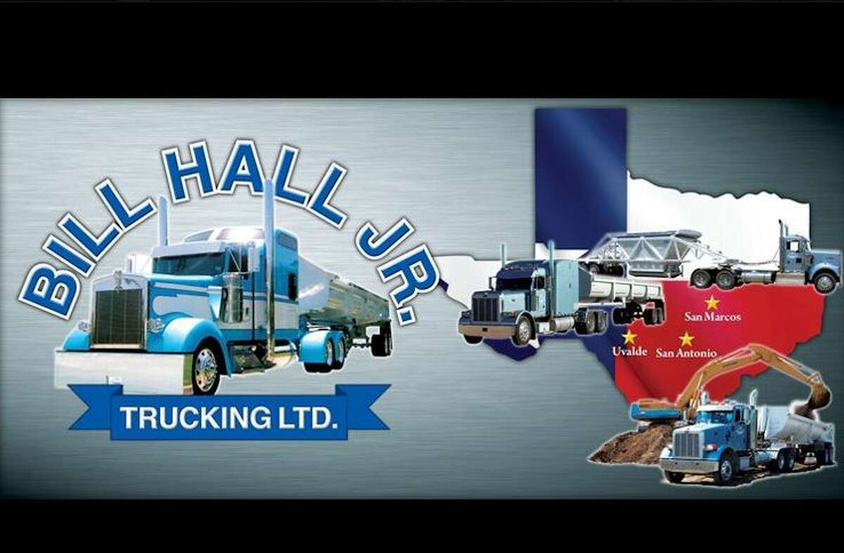 2.Bill Hall Jr. and his wife owned Bill Hall Jr. Trucking since 1989. A third-generation trucker, Hall built up the business to deliver road-building materials by more than 100 trucks. This photo appears on the Bill Hall Jr. Trucking company's official Facebook page.