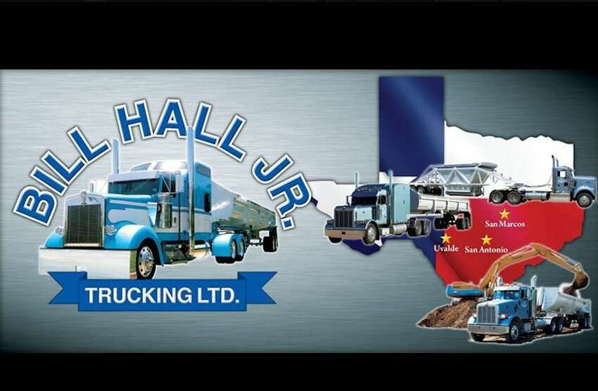 2. Bill Hall Jr. and his wife owned Bill Hall Jr. Trucking since 1989. A third-generation trucker, Hall built up the business to deliver road-building materials by more than 100 trucks. This photo appears on the Bill Hall Jr. Trucking company's official Facebook page.