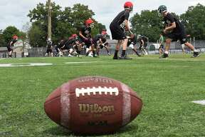 The Shenendehowa football team practices at Shenendehowa High School on Monday, Aug. 15, 2016 in Clifton Park, N.Y. (Lori Van Buren / Times Union)