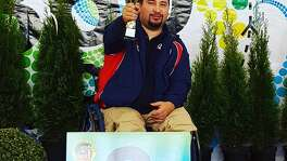 In May 2016, Marine Corps veteran Marco de la Rosa won the silver medal for the air pistol competition at the International Paralympic Committee Shooting World Cup in Szczecin, Poland. De la Rosa
