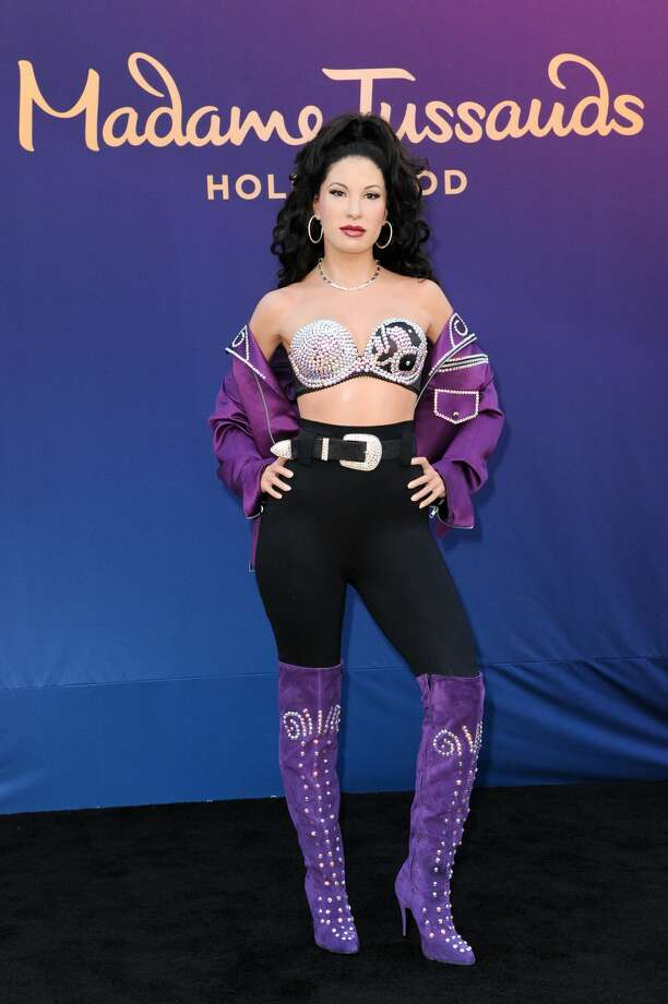 A wax figure of Selena Quintanilla is unveiled at Madame Tussauds Hollywood on Tuesday, Aug. 30, 2016, in Los Angeles. (Photo by Richard Shotwell/Invision/AP) Photo: Richard Shotwell/Richard Shotwell/Invision/AP