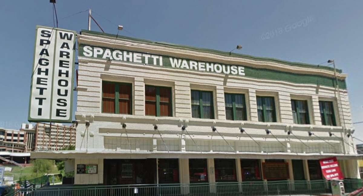Spaghetti Warehouse Address: 901 Commerce, Houston, Texas 77002 Demerits: 7 Inspection highlights: Observed roaches in multiple areas of the restaurant, as well as habitable environments for roaches/rodents.