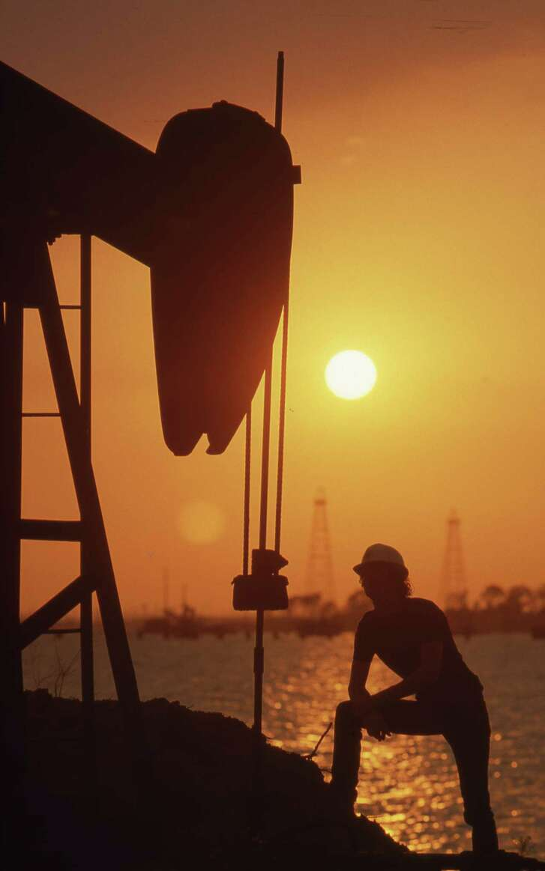 06/1985 - Goose Creek oil field is located in east Houston.