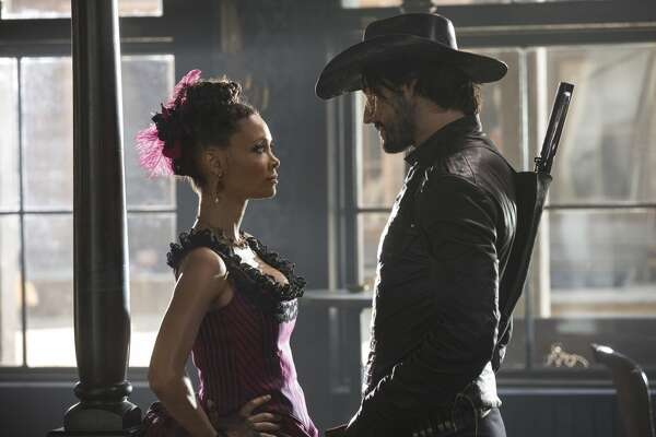 """WESTWORLD   HBO's ambitious new series is about """"a dark odyssey about the dawn of artificial consciousness and the evolution of sin, exploring a world in which every human appetite, no matter how noble or depraved, can be indulged."""" It stars Anthony Hopkins, Evan Rachel Wood, Ed Harris, Jeffrey Wright and Thandie Newton among others. It debuts on HBO on Sunday, October 2nd at 8/9 p.m."""