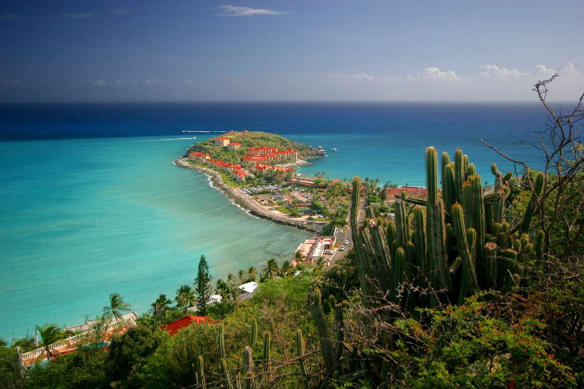 18. St. Martin French,Dutchand Caribbean cultures blend at this tropical paradise. Check out the butterfly farm La Ferme des Papillons and sample the produce atMarigot Market.