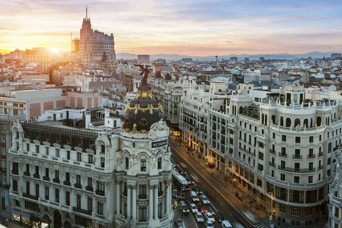20. Madrid This city is one of the art capitals of the world, so don't miss the Mueso del Prado museum. Enjoy some tapas at the Plaza Mayor where you can enjoy sightseeing and enjoy some live music on the weekends.